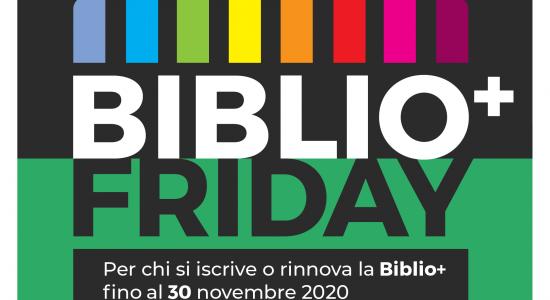 BiblioPiù Friday